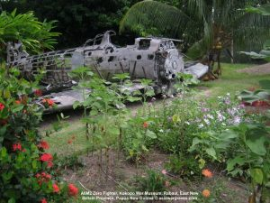 A6M2 Zero Fighter, Kokopo War Museum, Rabaul, East New Britain Province, Papua New Guinea