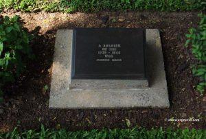 An Unknown Japanese Soldier - Maynamati War Cemetery, Bangladesh
