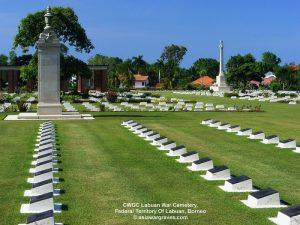 CWGC Labuan War Cemetery, Federal Territory Of Labuan, Borneo