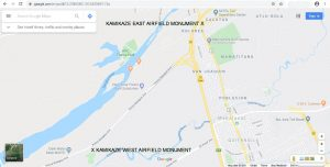 Google-Road-Map-Kamikaze-West-and-East-Airfields-Monuments-asiawargraves.com