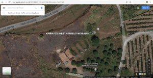 Google-Satellite-view-Kamikaze-West-Airfield-Monument-asiawargraves.com