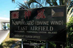 Information, Kamikaze East Airfield Monument © asiawargraves.com