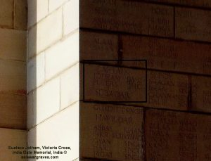 JOTHAM E. VC - 51st Sikhs F F - East Archway Face 2 (outer-ctr), India Gate Memorial, India