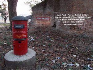 Last Post - Former British Military Barracks awaiting demolition in Pune Camp-Cantonement, Pune, Maharashtra, India
