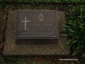 Sister CONSTANCE DOTEREL MART WORT (QAIMNS), Digboi War Cemetery, Assam, India