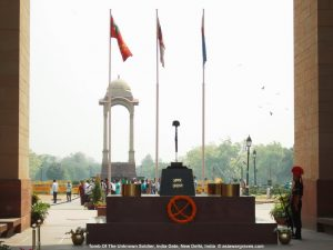 Tomb Of The Unknown Soldier, India Gate, New Delhi, India