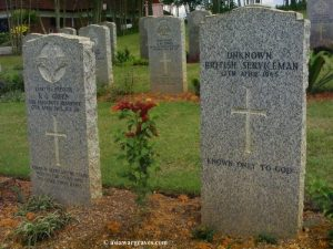 An Unknown British Serviceman - Kranji Military Cemetery, Singapore