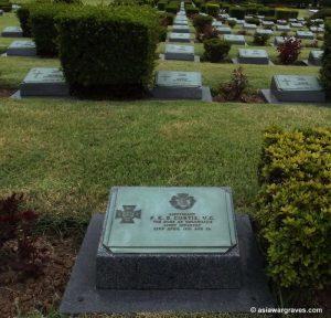 Curtis P.K.E., Victoria Cross, United Nations Cemetery Busan, Korea