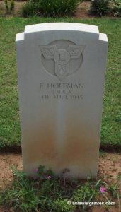 F. Hoffman (ENSA), Madras War Cemetery, India