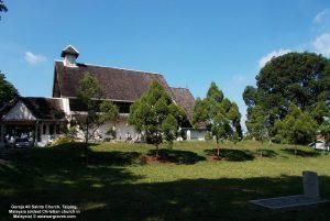 Gereja All Saints Church, Taiping, Malaysia (oldest Christian church in Malaysia)