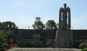 Grieving Mother Memorial, Long Binh PAVN Soldiers Cemetery, Saigon - HCMC, Vietnam