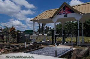 Gurkha Cemetery (maintained by NAAFI), Kuala Belait, Brunei Darussalam