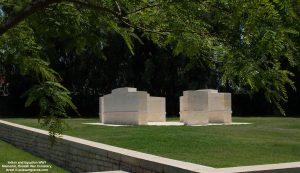 Indian and Egyptian WW1 Memorial, Ramlah War Cemetery, Israel