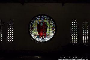 Inside Chapel, Kandy Civil Cemetery, Central Province, Kandy, Sri Lanka