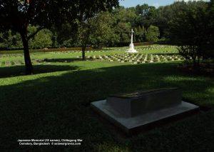 Japanese Memorial (18 names), Chittagong War Cemetery, Bangladesh