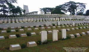 Kranji Military Cemetery (1975 Pasir Panjang and Ulu Pandan Cemeteries), Singapore