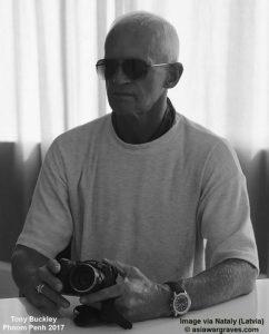 Tony Buckley Webmaster asiawargraves.com
