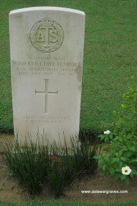 W.O.II WINIFRED ETHEL ELSMORE, (Aux. Territorial Service), Kuala Lumpur (Cheras Road) Civil Cemetery, Malaysia